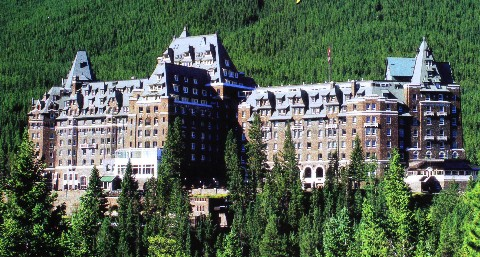 Banff Springs Hotel-Check in